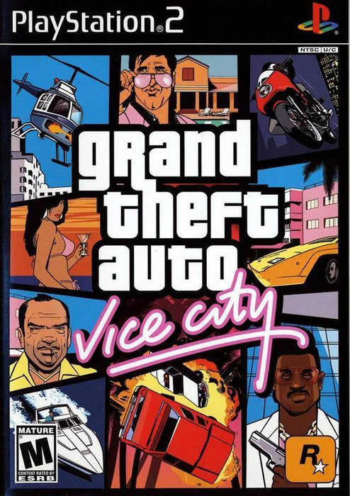 Grand Theft Auto Vice City - PlayStation 2