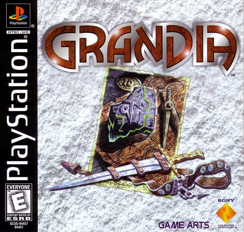 Grandia - PlayStation 1