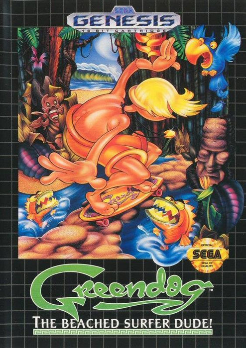 Greendog The Beached Surfer Dude! - Sega Genesis