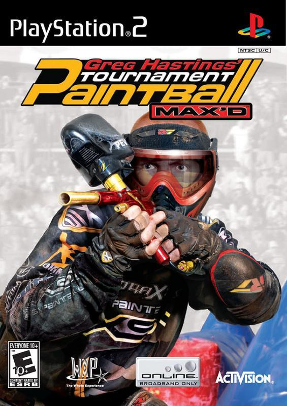 Greg Hastings Tournament Paintball MAXD - PlayStation 2
