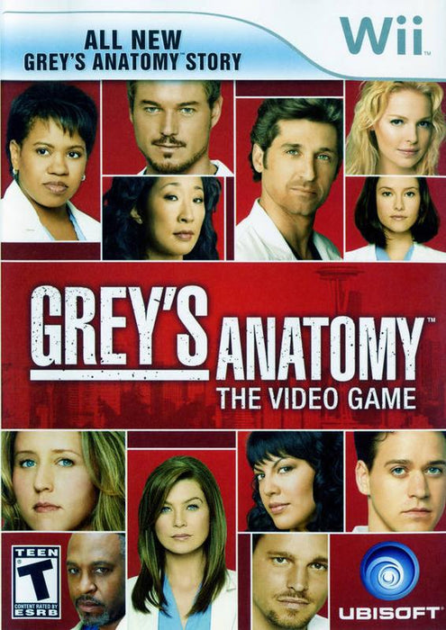 Greys Anatomy The Video Game - Wii