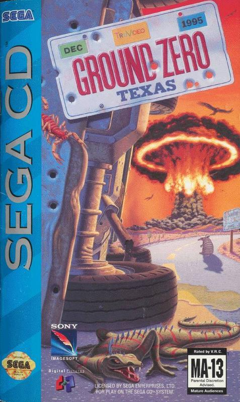 Ground Zero Texas - Sega CD