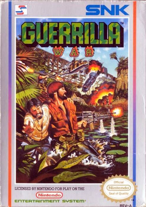 Guerrilla War - Nintendo Entertainment System