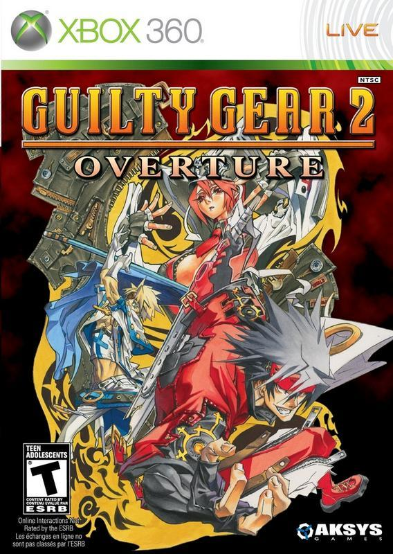 Guilty Gear 2 Overture - Xbox 360