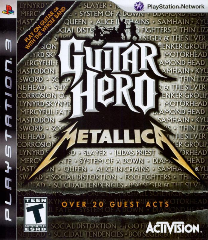 Guitar Hero Metallica - PlayStation 3