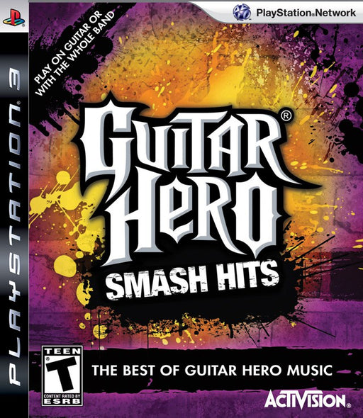 Guitar Hero Smash Hits - PlayStation 3