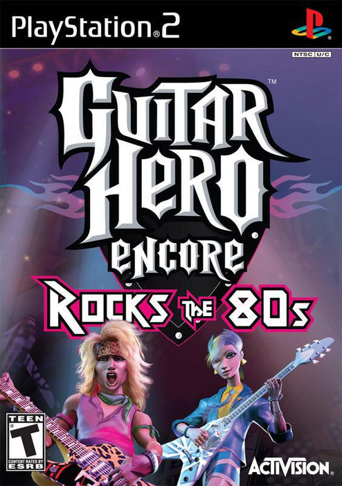 Guitar Hero Encore Rocks the 80s - PlayStation 2