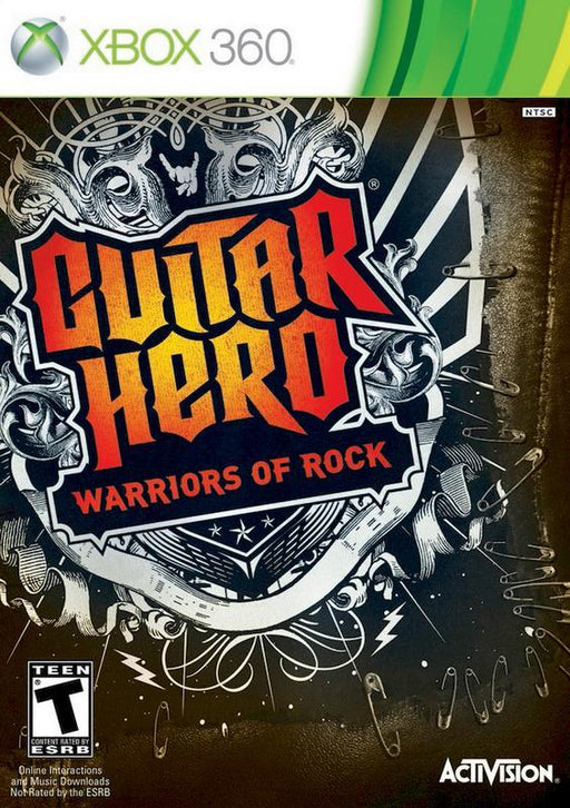 Guitar Hero Warriors of Rock - Xbox 360