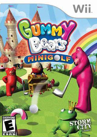 Gummy Bears Mini Golf - Wii