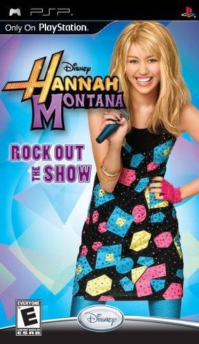 Hannah Montana Rock Out the Show - PlayStation Portable
