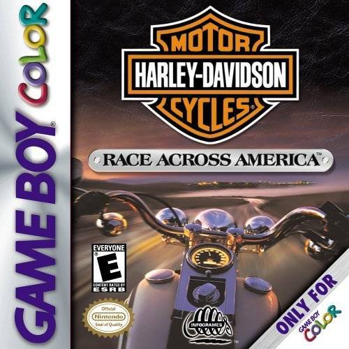 Harley Davidson Race Across America - Game Boy Color