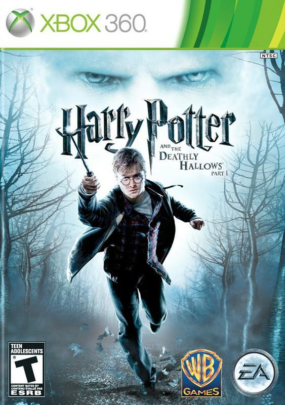 Harry Potter and the Deathly Hallows Part 1 - Xbox 360