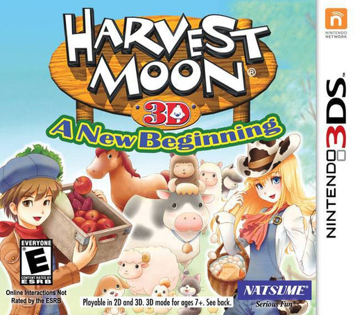 Harvest Moon 3D A New Beginning - Nintendo 3DS