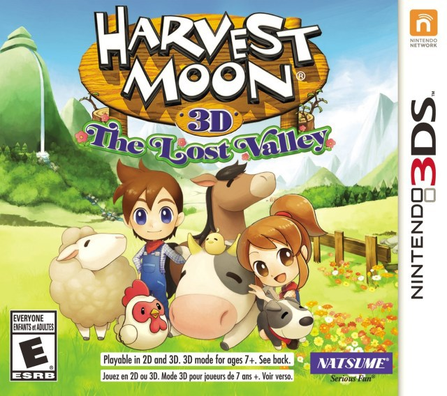 Harvest Moon 3D The Lost Valley - Nintendo 3DS