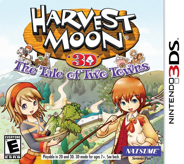 Harvest Moon 3D The Tale of Two Towns - Nintendo 3DS