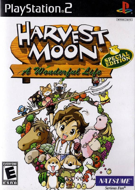 Harvest Moon A Wonderful Life - PlayStation 2