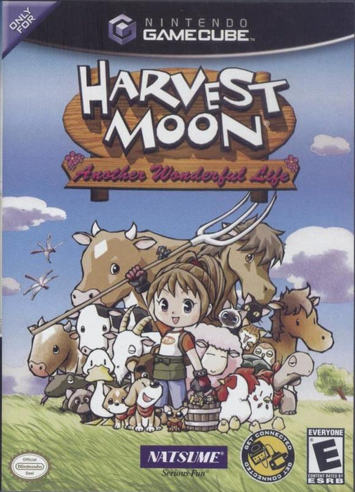 Harvest Moon Another Wonderful Life - Gamecube