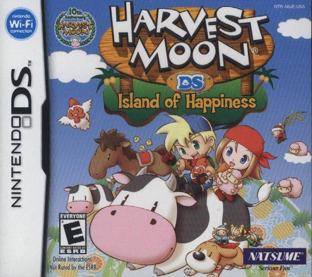 Harvest Moon DS Island of Happiness - Nintendo DS