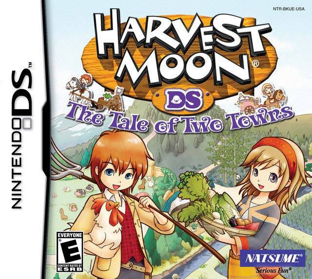 Harvest Moon The Tale of Two Towns - Nintendo DS