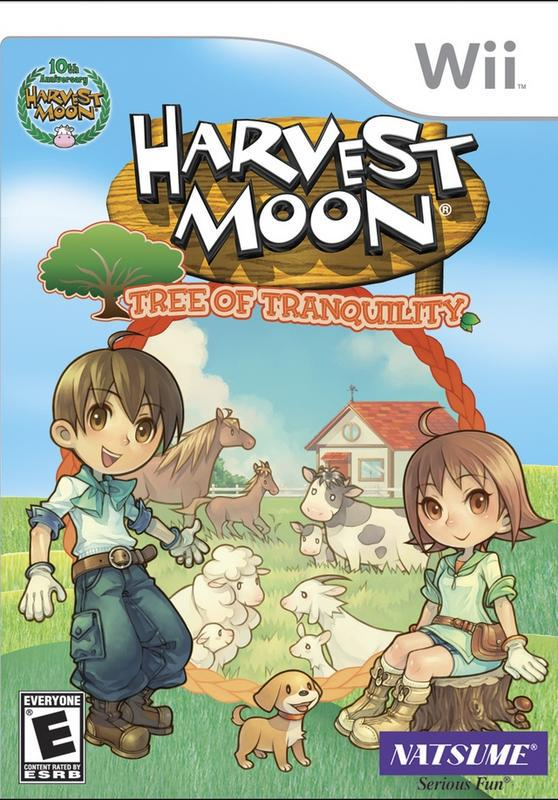Harvest Moon Tree of Tranquility - Wii