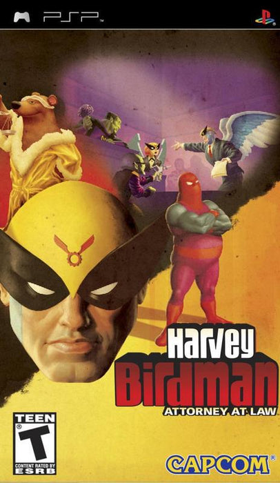 Harvey Birdman Attorney at Law - PlayStation Portable