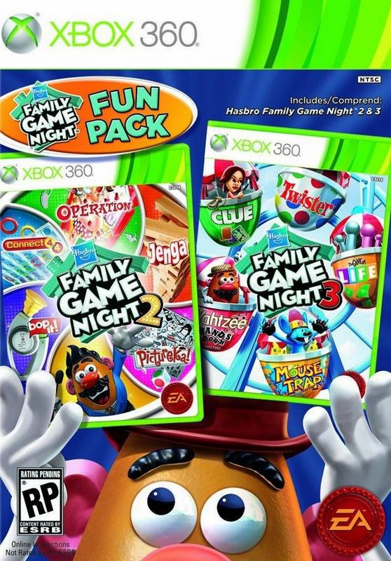 Hasbro Family Game Night Fun Pack