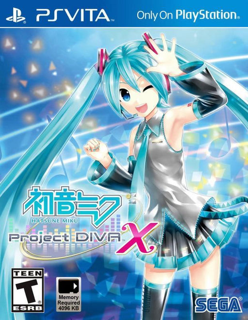 Hatsune Miku Project Diva X - PlayStation Vita