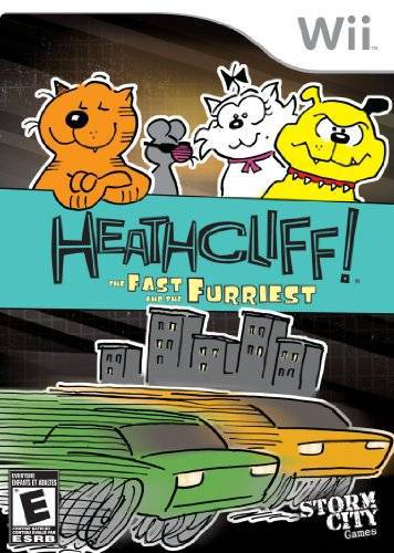 Heathcliff! The Fast and the Furriest - Wii