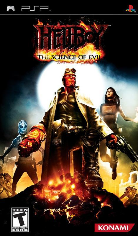 Hellboy The Science of Evil - PlayStation Portable