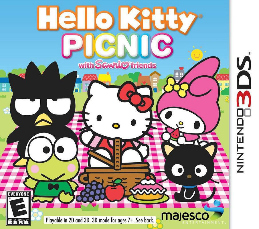 Hello Kitty Picnic with Sanrio Friends - Nintendo 3DS