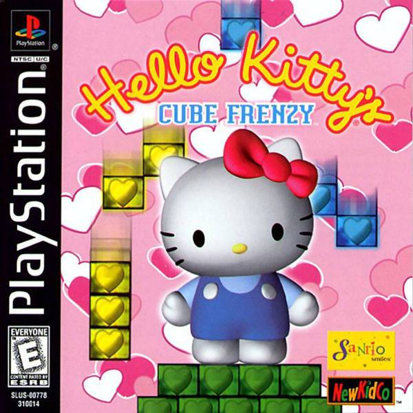 Hello Kittys Cube Frenzy - PlayStation 1