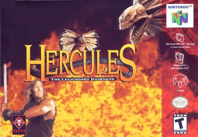 Hercules The Legendary Journeys - Nintendo 64
