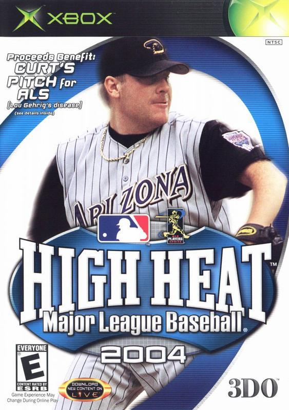 High Heat Major League Baseball 2004 - Xbox