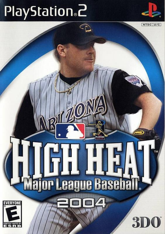High Heat Major League Baseball 2004 - PlayStation 2