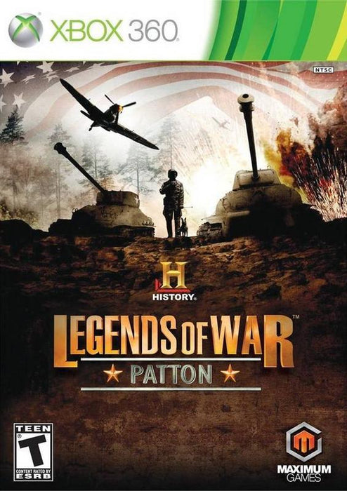 History Legends of War Patton - Xbox 360