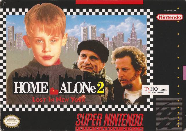 Home Alone 2 Lost in New York - Super Nintendo Entertainment System