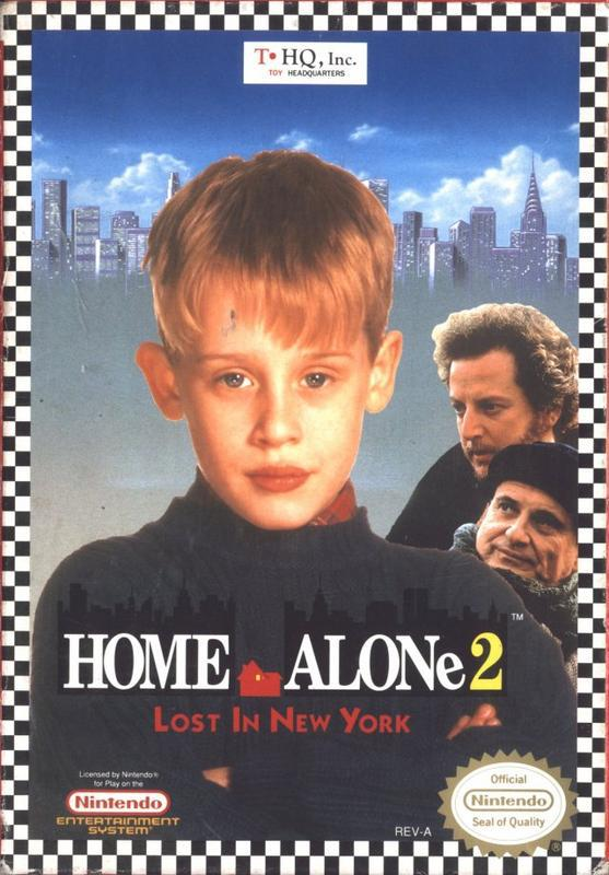 Home Alone 2 Lost in New York - Nintendo Entertainment System