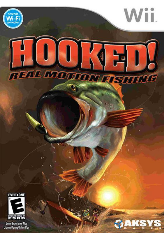 Hooked! Real Motion Fishing - Wii