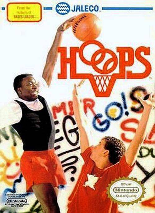 Hoops - Nintendo Entertainment System