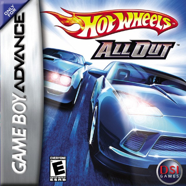 Hot Wheels All Out - Game Boy Advance