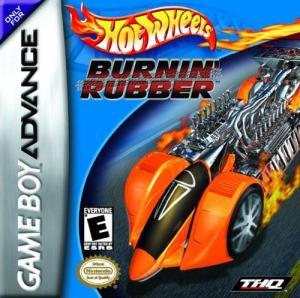Hot Wheels Burnin Rubber - Game Boy Advance