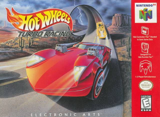 Hot Wheels Turbo Racing - Nintendo 64