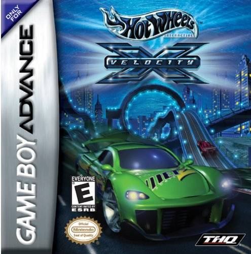 Hot Wheels Velocity X - Game Boy Advance