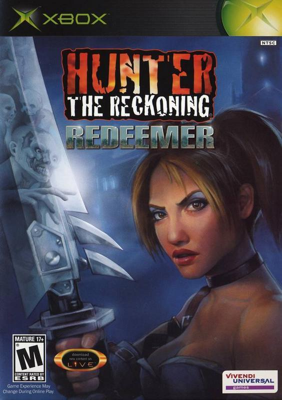 Hunter The Reckoning Redeemer - Xbox