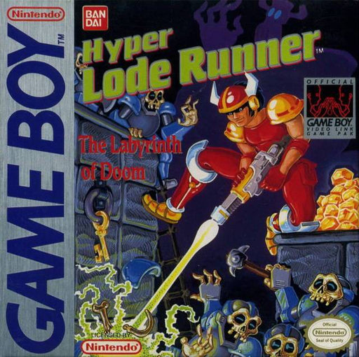 Hyper Lode Runner The Labyrinth of Doom - Game Boy