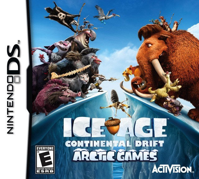 Ice Age Continental Drift - Arctic Games - Nintendo DS