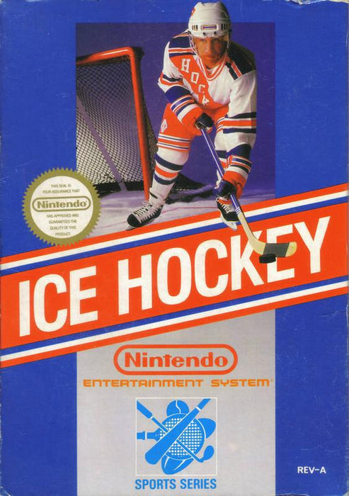 Ice Hockey - Nintendo Entertainment System