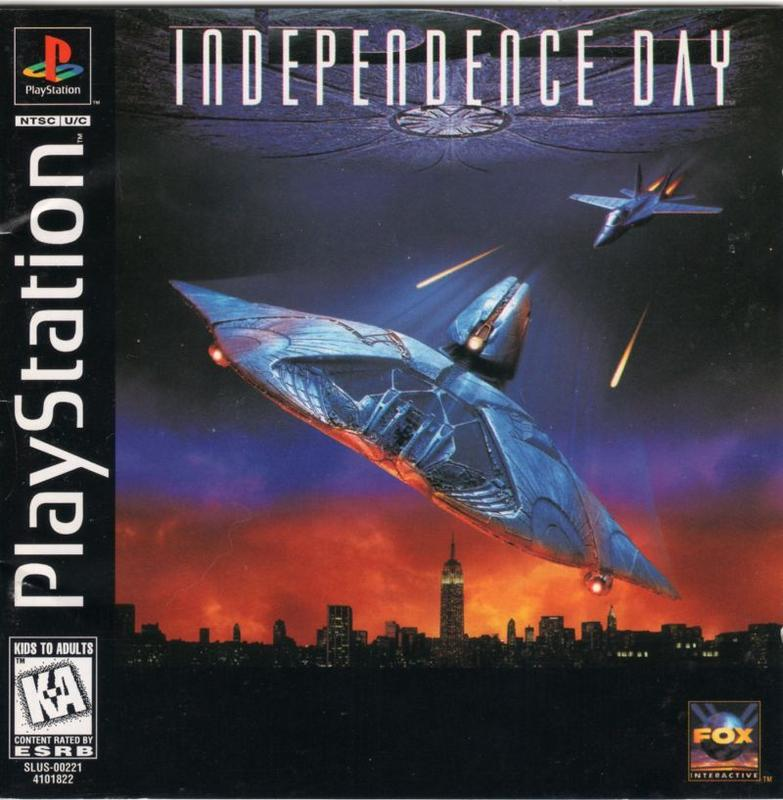 Independence Day - PlayStation 1