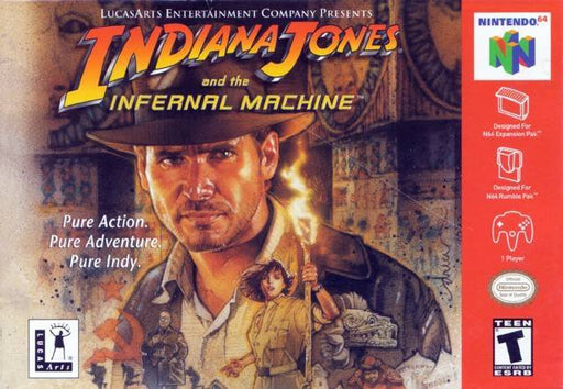 Indiana Jones and the Infernal Machine - Nintendo 64