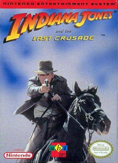 Indiana Jones and the Last Crusade - Nintendo Entertainment System